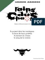 Warhammer Nains Du Chaos (Avec Note)