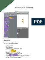 Scratch -Aplicatie 1