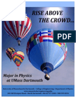 UMass Dartmouth Physics Department Viewbook