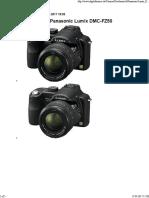 Datenblatt der Panasonic Lumix DMC-FZ50