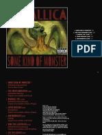 Metallica - Digital Booklet - Some Kind of Monster