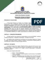 Edital Pregao Elet. 005-2009 Mat. de Cons. de Exp. e de Inform