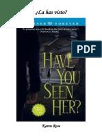 Rose Karen - Suspense 02 - La has visto.pdf