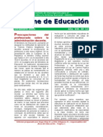 Informe de Educación (Iniden - diciembre 2010)