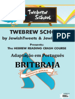 CURSO HEBRAICO - RESHITH BINAH