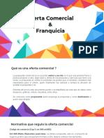 Oferta Comercial  & Franquicia