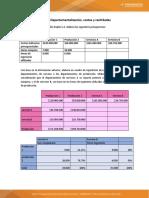 taller costos y cantidades