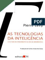 As Tecnologias da Inteligência - Pierre Lévy