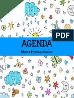 Agenda mami homeschooler