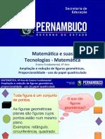 Ampliação e Redução de Figuras Geométricas, Proporcionalidade- Uso Do Papel Quadriculado