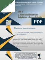 E1P1 - Aula 2 A Medida Socioeducativa e a Relação com o Sistema de Justiça