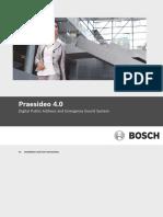 Praesideo 4.0 - Instaln & User Instr