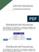 Distribución de Frecuencias-presentacion