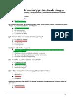 TEST UNIDAD 6 RIESGOS LABORALES