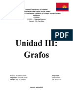 Unidad 3 - Grafos