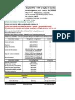 Planilha de criação de contas tipo de grupo de conta ESQT (TERMINAR)