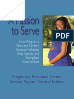 Pregnancy Resource Center Service Report