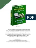 45732011 Secrets to Successful Job Hunting