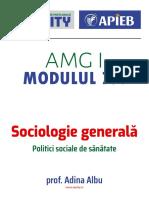 Modulul 7.4 Politici sociale de sanatate (1)