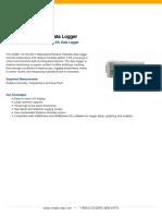 HOBO UX100-003 Data Logger Datasheet