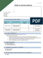 Resume of Mamtaj Akter.pdf