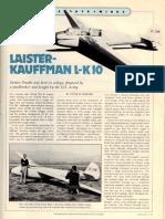 laister-kauffman l-k 10a glider similar to dads photo