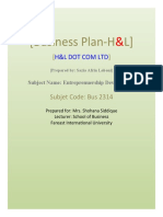 H&B Business Plan.doc 2015