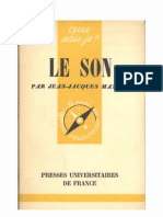 2056063 Le Son Jean Jacques Matras