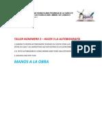 TALLER HACER 3 SEPTIMO LA AUTOBIOGRAFÍA