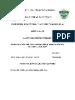 INVESTIGACIÓN DEL FUNCIONAMIENTO Y APLICACIÓN DEL SECUENCIADOR SQO