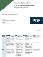 seleccion de lenguaje de programacion