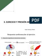 Ejercicio y Presión Arterial