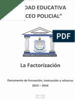 Factorización (1)
