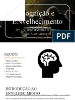 Cognição e Envelhecimento - Estágio Básico 3