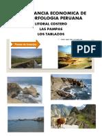 IMPORTANCIA ECONOMICA DE LA MORFOLOGIA PERUANA