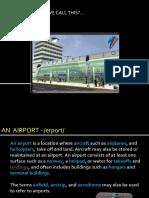 Airport Vocabulary