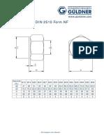 673DIN 2510 Form NF