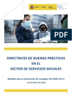 Directrices de buenas prácticas en el Sector Servicios Sociales