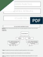 APUNTES DE EDO CLASE No. 1