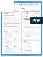 2. Expresiones y polinomios