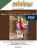 Entreletras. Revista de Estudios Literarios. Año II, No. 4, julio-diciembre 2018
