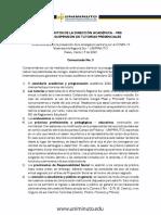 Comunicado No. 3 - COVID 19 Lineamientos Académicos (1)