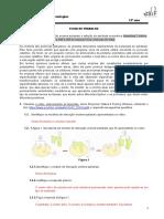 FT-interação enzima sustrato-inibição enzimática-correção