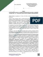 Proiect Ordin ANSVSA MS Covid19 Alimentatie Publica Avocatoo