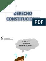 1° Clase - Dº Constitucional