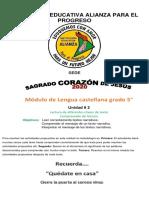 Módulo lengua Castellana (II)
