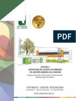 UNIDAD 1 - LECTURA 2 - Estructura del Estado Colombiano y el Archivo General de la NAcion (AGN)