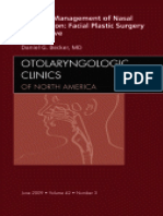 Clinincs of North America becker nasal obstruction