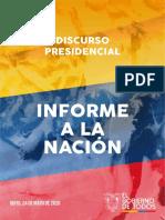 Discurso Informe Nacion