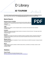 Databases Traveltourism GP Aug07